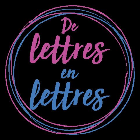 Logo De lettres en lettres