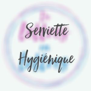 Serviette hygiénique