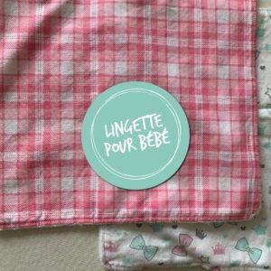 Lingette pour bébé