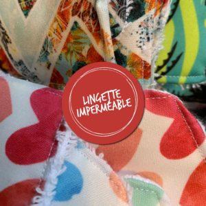 Lingette imperméable
