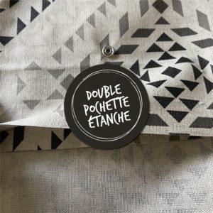 Double pochette étanche